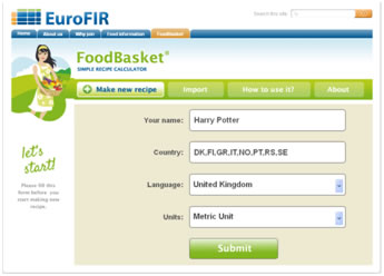 Eurofir your source of food information eurofir foodbasketenvironment forumfinder Choice Image