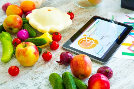 Electronic food diary
